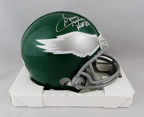 Sonny Jurgensen Signed Philadelphia Eagles TB Mini Helmet W/HOF - JSA W Auth Silver