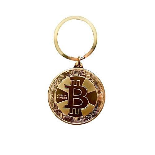 ビットコインキーチェーンゴールデンカラー| BTCは理想的な物理Cryptocurrencyギフト| Blockchain Revolution and Beyond B078VPG2WN