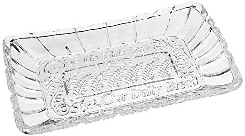 Crystal Clear Alexandria Bread Tray ()