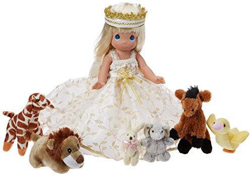 Precious Moments A Small Child Shall Lead Them Doll, - Doll Vinyl Moments Precious