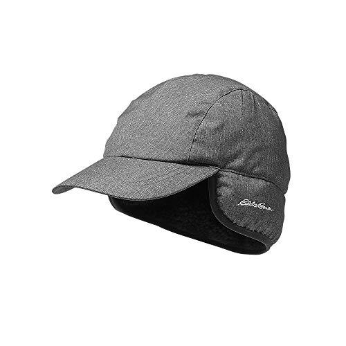 Eddie Bauer Mens Down Baseball Hat, Charcoal HTR Regular S/M