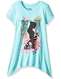 Big Girls' Beauty and the Beast Belle High Low Fashion Top