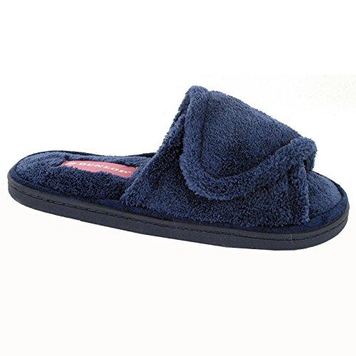 Dunlop - Pantoufles À La Maison Pour Les Femmes, La Couleur Bleu, Taille 35