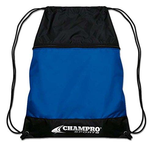 Champro Drawstring Sackpack、ロイヤル、18