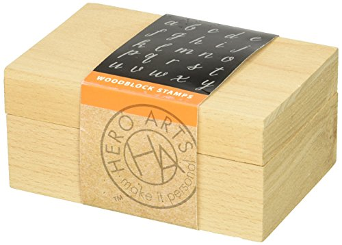 hero-arts-casual-letters-and-numbers-set-woodblock-stamp-set