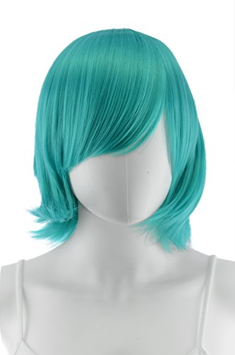 Dredd Costume Halloween (Epic Cosplay Chronos Vocaloid Green Wig 14 Inches)