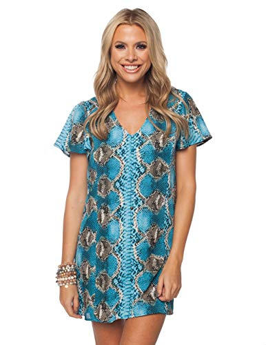 BuddyLove Women's Hailey Dress- Ocean ()