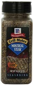 McCormick Grill Mates Montreal Steak Season, 14.5-Ounce Unit