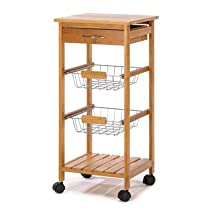 Decorative Elegant Kitchen Cart Home Kitchen Décor
