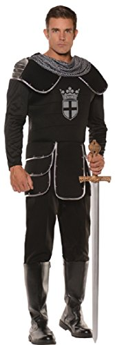 [Medieval Noble Knight Men Costume,Multi,Plus Size (2x)] (Medieval Queen Plus Size Costumes)