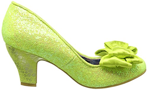 Sorbet Joe Z con Yellow Donna da Scarpe Giallo Tacco Irregular Choice Ban PxwSqv4qE
