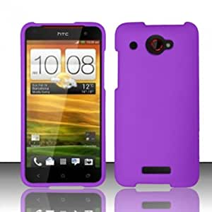 Purple Hard Cover Case for HTC Droid DNA 6435
