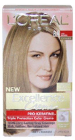L'Oreal Paris - Excellence Creme Pro - Keratine # 8A Ash Blonde - Cooler (1 Application) *** Product Description: Excellence Creme Pro - Keratine # 8A Ash Blonde - Cooler By L'Oreal Paris For Unisex - 1 Application Hair Colorexcellence'S Extra-Pr ***