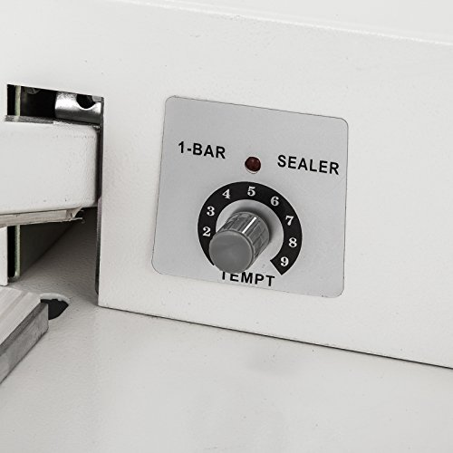 VEVOR 24'' I-Bar Shrink Wrap Machine with Heat Gun I-bar Sealer Compatible with PVC POF Film Shrink Wrap Sealer for Home Commercial Use (24 Inch) by VEVOR (Image #6)