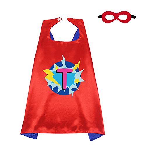 Red Superhero-Cape and Mask for Kid Costume