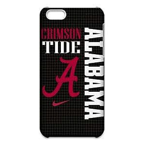 Alabama Crimson Tide Cell Phone Case for iPhone 5C 3D