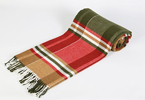 Arus Scotch Collection Tartan Blanket product image