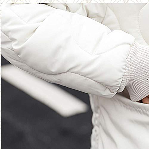 Cappotto Lammy Grandi Sottile Collare Modello Tattici Donne Capelli Camicetta Ispessimento Antivento Dimensioni Respirabili Outwear Spessi Giaccone Del Caldo Tasca Soprabito Hoodie Bianco Di Esterna Felpa xzFwtqwUY