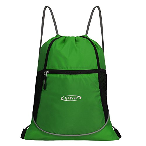 G4Free Drawstring Backpack Sports Gym String Bag Cinch Sack Gymsack Sackpack  Waterproof - Buy Online in Oman.   Sporting Goods Products in Oman - See  Prices ... f159d519ff
