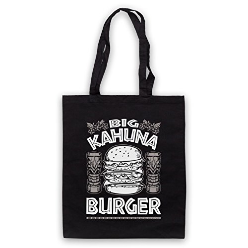 Fiction Inspired Pulp Black Kahuna Tote Big Unofficial Burger by Bag rErTqU1