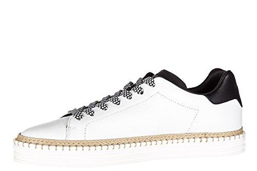 Hogan Rebel zapatos zapatillas de deporte hombres en piel nuevo r260 allacciato