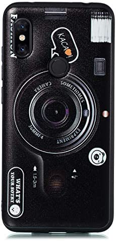DiaryTown Compatibel met Xiaomi Redmi Note 6 Pro Case Camera
