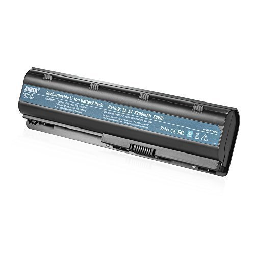 Anker High Performance 5200mAh/58Wh Laptop Battery for HP - Hp Dv6 Notebook Pc Battery