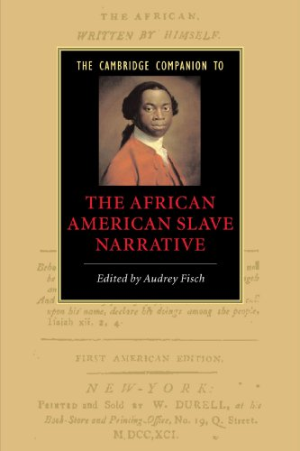 Search : The Cambridge Companion to the African American Slave Narrative (Cambridge Companions to Literature)