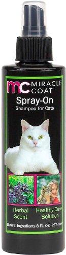Miracle Coat Spray-On Shampoo for Cats 8 oz.