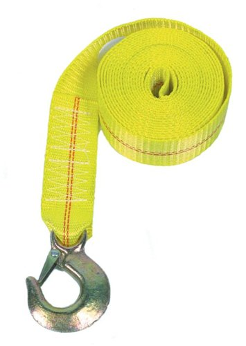 (Rod Saver Heavy Duty Replacement Winch Strap (25 Feet, Yellow))