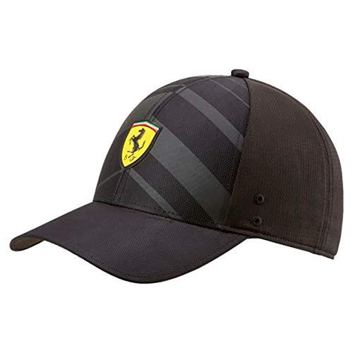 PUMA Ferrari Kids Black Fanwear Tech Hat (Kids Ferrari Cap)