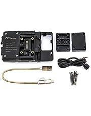 CSMDELAY Motorfiets Mobiele Telefoon GPS Board Bracket Mobiele Telefoon Stand Navigatie Beugel voor S*UZU*KI Vstrom 1000 DL1000 2014-2017 hncsm (Color : Phone clip)