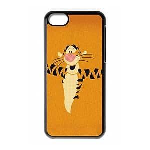 tigger iPhone 5c Cell Phone Case Black xlb-259598
