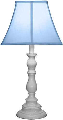 Creative Motion White Base Resin Table Lamp