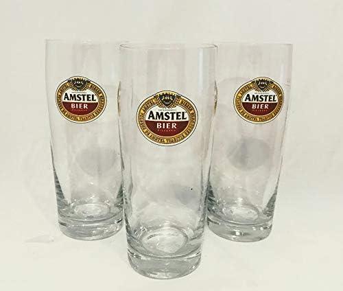 Amstel - Vasos de Cerveza (0,22 L, 3 Unidades)