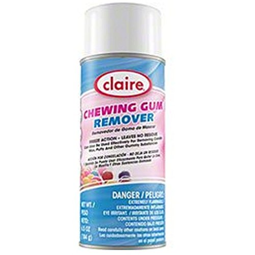 Claire 813 Chewing Gum Remover 6.5oz Aerosole Can 1 Can - Cherry Chip Scent Candle