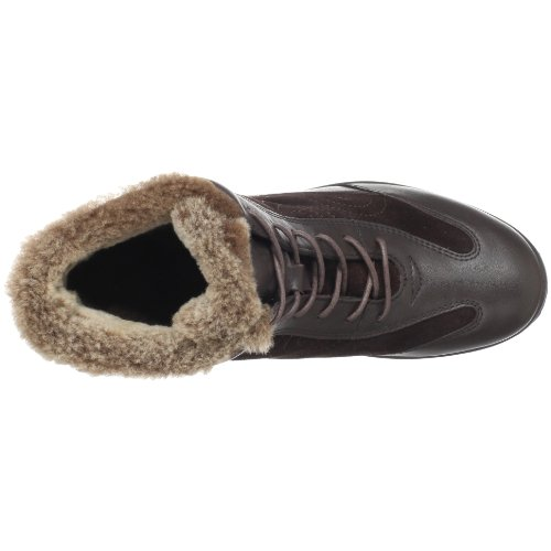 Fly Flot Donna Sanella Faux Fur Boot Marrone