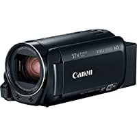 Canon VIXIA HF R80 Full HD Camcorder with 57x Advanced Zoom, 1080P Video, 3' Touchscreen and DIGIC DV 4 Image Processor - Black (Certified Refurbished)