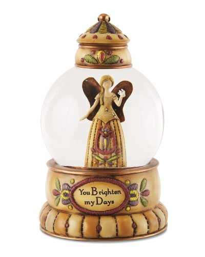"""Pavilion Gift Company 29072 Country Soul """"Brightened Days"""" Musical Water Globe, 100mm"""