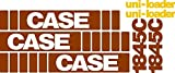 Case Skidsteer Decal Set 1845C Whole Machine with Uni-Loader Decals Brand New