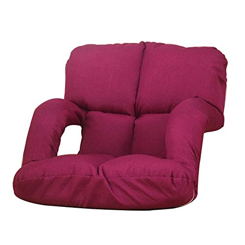 Amazon.com: zenggp Silla de suelo, asiento ajustable para ...