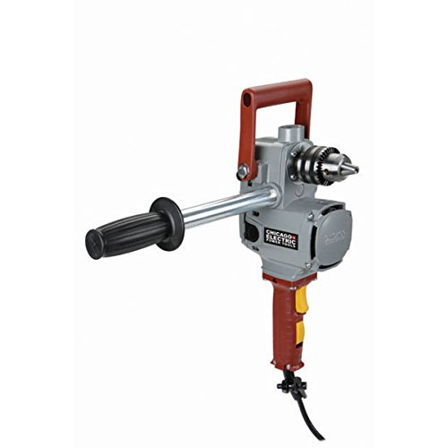 Chicago Electric Power Tools 1/2'' Compact 2-Speed Right Angle Drill by Chicago Pneumatic