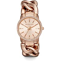 Michael Kors Quartz Movement with Crystal Bezel Nini Chain Women's Watch