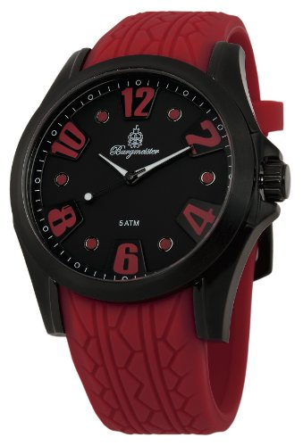 Burgmeister Men's BM606-624 Black Spirit Analog Watch