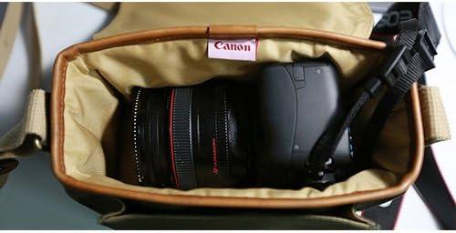 Canon D-SLR RF Mirrorless Pocket Shoulder Bag Case 6520 Khaki for Lens EOS M M2 M3 100D 400D 450D 500D 550D 600D 650D 700D 750D 41BUYy13pAL
