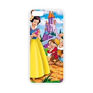 Snow White and Seven Dwarfs For iPhone 6s 4.7 Inch White Cell Phone Case Baxrj7172419