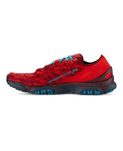 Under Armour Men's UA SpeedForm® XC Trail Running Shoes 9 Red