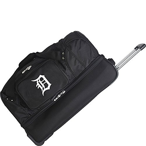 MLB Detroit Tigers Rolling Drop-Bottom Duffel by Denco