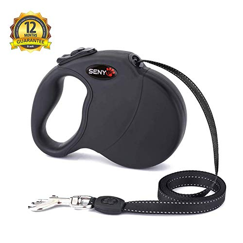 senye Retractable Tangle Button Walking