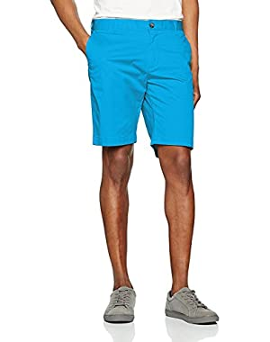 Men's Men's Blue Bermuda Shorts in Size W42 (52 EU) Light Blue